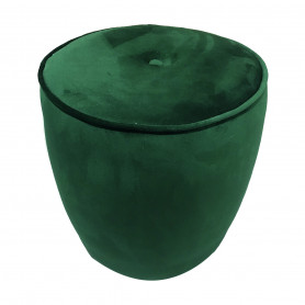 MD CASA - POUF IN VELLUTO