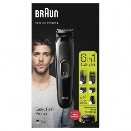 BRAUN ALL-IN-ONE TRIMMER 3 - RIFINITORE MULTIUSO